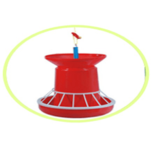 Feeder With Extn. Cone & Grill